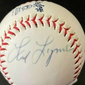 Fred Lynn Signed Autographed Rawlings Official MLB Baseball Boston Redsox Logo