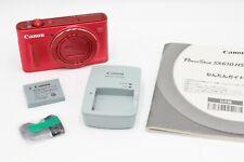 Canon PowerShot SX610 HS 20MP 18X Zoom Digital Camera -Red