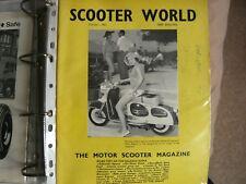 Scooter World Magazine October 1962, Lambretta, Vespa