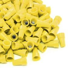 5000 pcs Yellow Screw On Wire Electrical Connectors Twist-On Easy Screw Pack