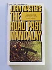 Vintage THE ROAD PAST MANDALAY by John Masters 1963 Bantam Paperback Book 925