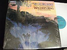 WAGNER°RING<>SIR GEORG SOLTI<>Lp Vinyl°Neth. Pressing °LONDON  LDR 7112