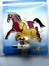 Running Horse & Colt Night Light UL Listed New In Package