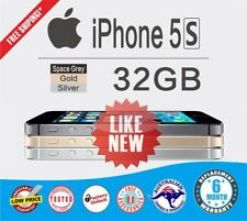 Apple iPhone 5S 32GB Silver Smartphone 4G as NEW UNLOCKED FREE Shipping WARRANTY