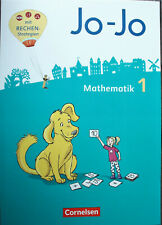 Jo Jo Mathematik Klasse 1, Schülerbuch mit den Beilagen, 2020