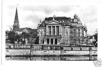 AK, Schwerin, Blick zum Staatstheater, 1954
