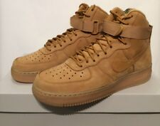 Nike Air Force 1 High '07 LV8 Flax Wheat Suede Daim Caramel 806403-200 Taille 40