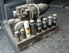 Vintage Old Bell Filmosound Tube Amplifier Model A Very Early  HEAVY Design 142