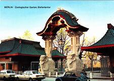 Berlin , Zoologischer Garten , Elefantentor,Ansichtskarte