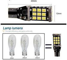 LAMPADINA AUTO T15 21 LED 2835 CANBUS NO ERRORE LUCE  BIANCA 200 lumen