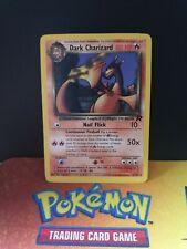 Dark charizard 21/82 Team Rocket EX/NM Condition Rare Pokemon Card 2
