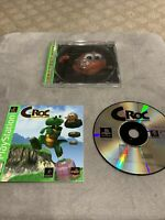 Croc: Legend of the Gobbos (Sony PlayStation 1, 1998) Complete, Tested, PS1 Game