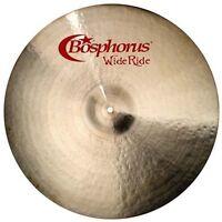 """Bosphorus Groove Wide Ride Becken  Cymbal Handgehämmert  22"""""""