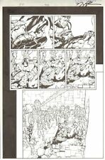 Fantastic Four #508 pg 21 - Death of Thing - Signed art by Howard Porter Comic Art