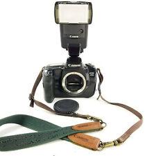Canon EOS 5 A2E Quartz Date FILM Camera W/ Flash ( BODY and FLASH ONLY )