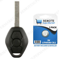 Replacement for BMW 5 Series 525 528 530 540 545 550 Remote Car Keyless Key Fob