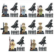 Military Soldier Army Swat World War 2 Amy Building Blocks Bricks Model Toys