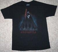 Medium Star Wars Darth Vader Charcoal Gray Polyester Rayon Graphic T-shirt Men's