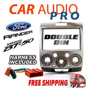 -For Ford Ranger PK/PJ For Mazda BT-50 07-2011 Double-Din Fascia Facia Dash Kit