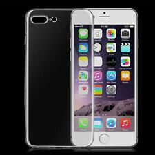 For Various Phones Transparent Silicone Ultra Thin Soft TPU Case Cover Skins