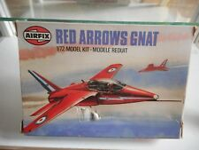 Modelkit Airfix Red Arrows Gnat on 1:72 in Box