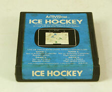 Vintage  Atari 2600 game Ice Hockey By Activision Tested  & Working