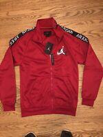 Nike Air Jordan Jumpman Classic Red Track Jacket CT9414-687 Men's Size Small