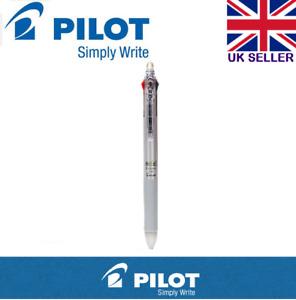 Pilot Frixion 0.38mm 3 Multi Colour Erasable Rollerball Pen ( SILVER Body)