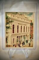 Little Cigars Theatres Old and New - OLD WALNUT ST. THEATRE - Tobacco Card