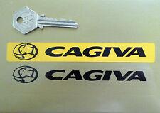 CAGIVA Plaque Immatriculation Marchand Logo Autocollant de Couverture Jaune