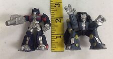 2007 Hasbro Robot Heroes Transformers Optimus Prime and Blackout Mixed Used Lot
