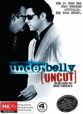 Underbelly Uncut - Original Series (DVD, 2008, 4-Disc Set) VGC