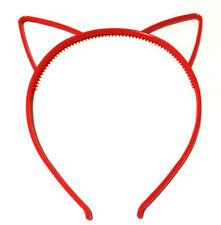 Accesorios de plástico de color principal rojo para cabello de mujer