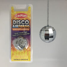 Carplan Disco Ball Car Home Air Freshener Freshner Fragrance Scent - Vanilla