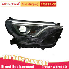 For Toyota RAV4 Headlights assembly Bi-xenon Lens Projector LED DRL 2016-2019