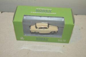 MICRO MINIATURES DE NOREV VOITURE  SIMCA ARRONDE  TRAIN HO 1/87  NEUF CAR/AUTO