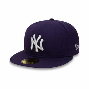 New York Yankees MLB Purple 59FIFTY Fitted Baseball Cap