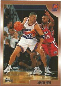Jason Kidd Topps 1998/99 - NBA Basketball Card #185