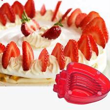 Fraise Tronçonneuse Desserts Acier Inox Lame Fruits Couteau Facil Cuisine Outil
