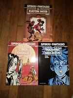 French Graphic Novels Comics - Spirou et Fantasio 44 - 46 Tome & Janry - Dupuis