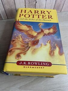 Harry Potter and the Order of the Phoenix (Hardback) First Edition  Bloomsbury