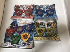 BANDAI marvel disk wars avengers bachicombat set japan game set like bayblade