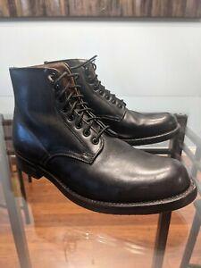 RCMP Vintage 1984 Black Leather Boots Size 8.5 E