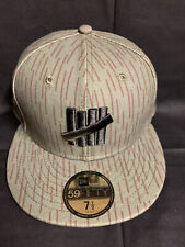 New Era Undefeated 59fifty Hat Cap Olive 7 1/2