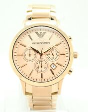 EMPORIO ARMANI Rose Gold Classic Mens Watch AR2452