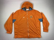 Tennessee Lady Volunteers adidas Jacket Men's Orange Nylon Used Multiple Sizes