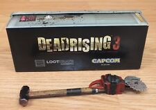 Capcom Loot Crate Exclusive Deadrising 3 Sledgesaw Sledgehammer Chainsaw Toy