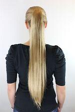 Extension, Blond, Zopf, Butterfly-Klammer, glatt, lang, ca. 70 cm, JL-3079-22T