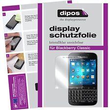 2x dipos Blackberry Classic Protector de Pantalla protectores transparente