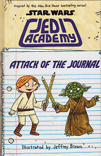 Star Wars Jedi Academy Attack of the Journal NEW BOOK by Jeffrey Brown (H/B 2015